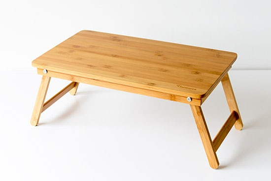 折りたたみ式/ローテーブル(バンブー製)の商品写真