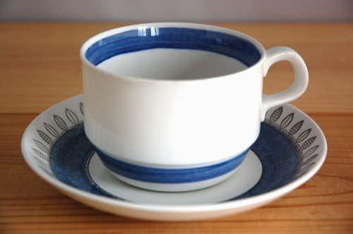RORSTRAND/ロールストランド/ティーカップ&ソーサー(僅かに難アリ)の商品写真