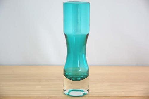 スウェーデンで見つけたガラスの花瓶(一輪挿し)の商品写真