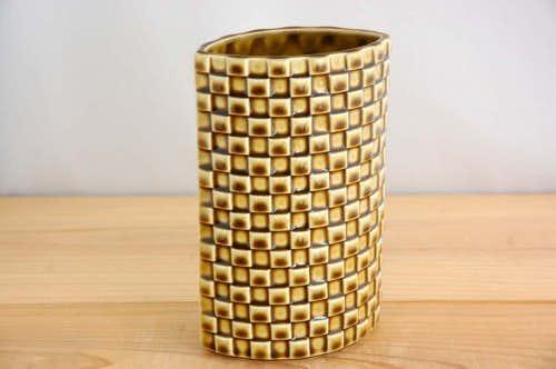 ARABIA/アラビア/1960年代/陶器の花瓶(グリーン)の商品写真