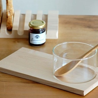 ScanWood/スキャンウッド/ブナの木/グラスボール付きカッティングボードの商品写真