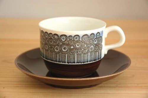 RORSTRAND/ロールストランド/AMANDA/アマンダ/コーヒーカップ&ソーサー(僅かに難あり)の商品写真