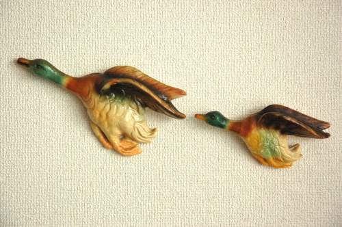 スウェーデンで見つけた鳥の壁飾り2個セットの商品写真