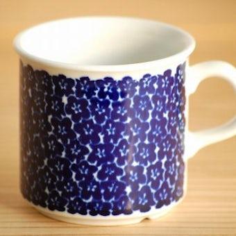 ARABIA/アラビア/Faenza/ブルー/コーヒーカップのみ(少々難アリ)の商品写真