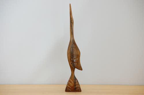 スウェーデンで見つけた木製の鳥のオブジェの商品写真