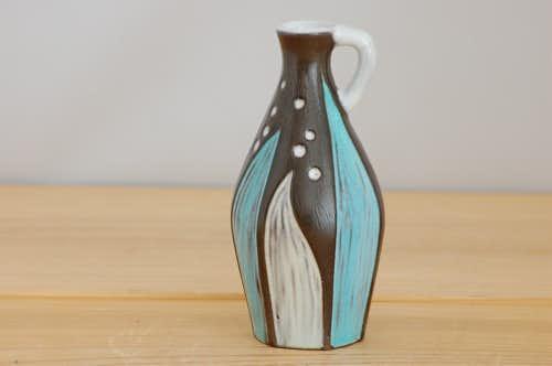 Upsala Ekeby/ウプサラエクビイ/Mari Simmulsonデザイン/陶器の一輪挿しの商品写真