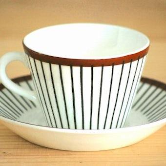 GUSTAVSBERG/グスタフスベリ/SPISA RIBB/スピサ・リブ/コーヒーカップ&ソーサーの商品写真