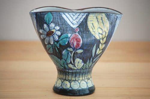 これはレア!!/スウェーデン製/Tilgmans/ティルグマン/陶器の花瓶の商品写真