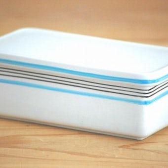 GUSTAVSBERG/グスタフスベリ/スティグ・リンドベリ/ALAND/陶器のバターケースの商品写真
