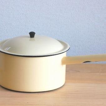 KOCKUMS/コクムス/ホーロー製の片手鍋(大)の商品写真