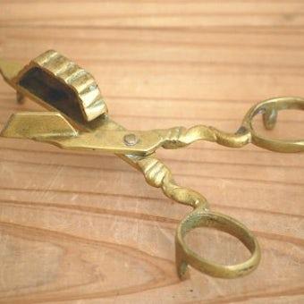 スウェーデンで見つけた珍しい道具/ローソクの火消しばさみの商品写真