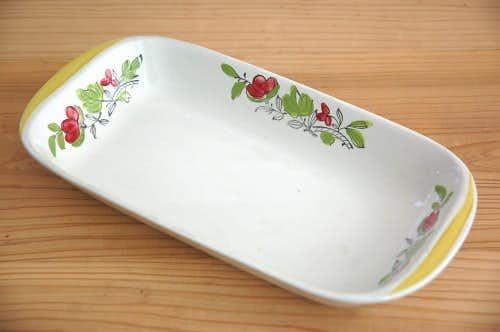 Upsala Ekeby/ウプサラエクビイ/TIPS/お花模様の深皿の商品写真