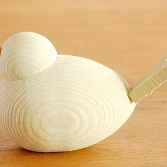 【取扱い終了】デンマーク/Sebastian design/セバスチャンデザイン/木製の水鳥のオブジェ(M)/ホワイトの商品写真