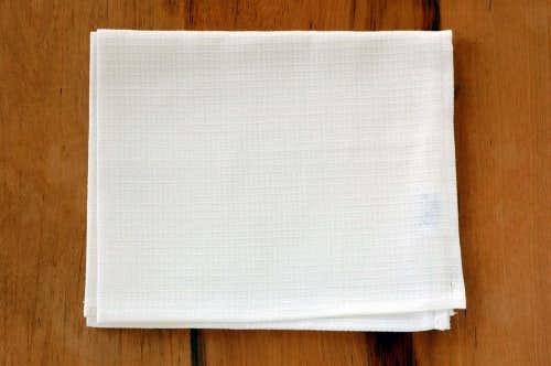 【取扱い終了】リトアニアのリネン/チパ/ハンドタオル(Mサイズ)/ホワイトの商品写真