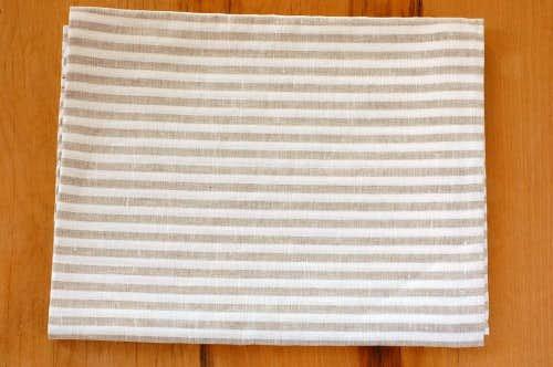【取扱い終了】リトアニアのリネン/バサラ/バスタオル(Lサイズ)/ストライプの商品写真