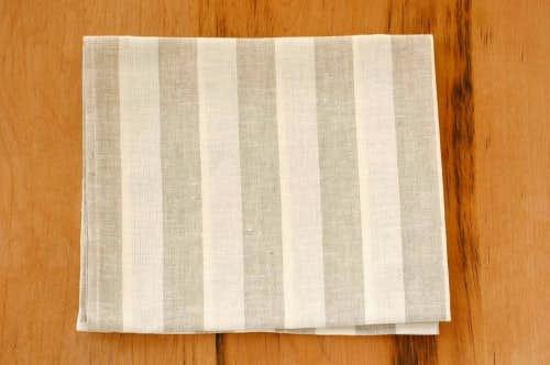 【取扱い終了】リトアニアのリネン/マリーストライプ/ハンドタオル(Mサイズ)の商品写真