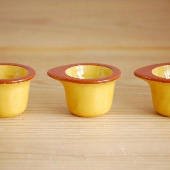 RORSTRAND/ロールストランド/SUPEA/黄色のエッグカップ3個セットの商品写真