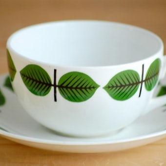 GUSTAVSBERG/グスタフスベリ/BERSA/ベルサ/コーヒーカップ&ソーサー(僅かに難アリ)の商品写真