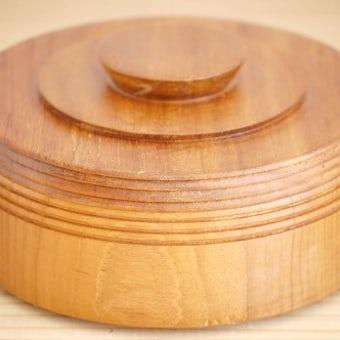スウェーデンで見つけた木製キャニスター2の商品写真
