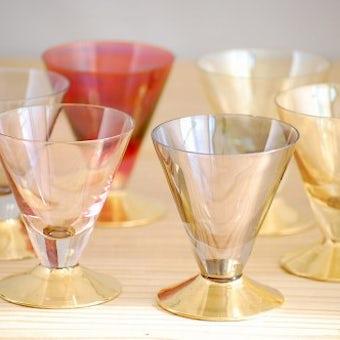 スウェーデンで見つけた1950年代製のショットグラス6個セットの商品写真