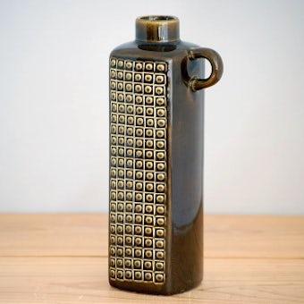 RORSTRAND/ロールストランド/KUB/陶器の花瓶(モスグリーン)の商品写真