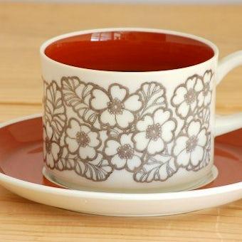 GEFLE(Upsala Ekeby)/ゲフル(ウプサラエクビイ)/AGNETA/コーヒーカップ&ソーサーの商品写真