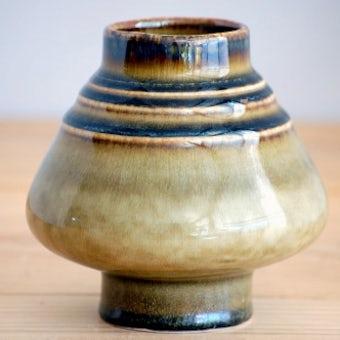 RORSTRAND/ロールストランド/陶器の花瓶(ブラウン)の商品写真