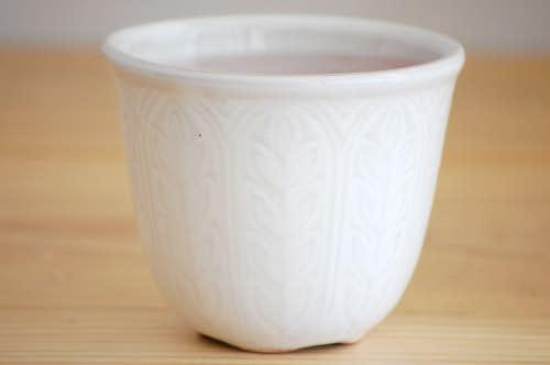 RORSTRAND/ロールストランド/陶器の植木鉢(ホワイト)刻印なしの商品写真
