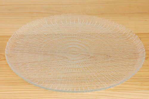フィンランド製/大きなガラスのサービングプレートの商品写真