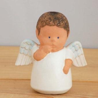 GUSTAVSBERG/グスタフスベリ/リサ・ラーソン/天使のキャンドルスタンド(オブジェ)の商品写真