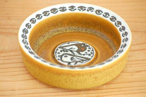 GUSTAVSBERG/グスタフスベリ/リサ・ラーソン/陶器のアッシュトレイ(鳥)の商品写真