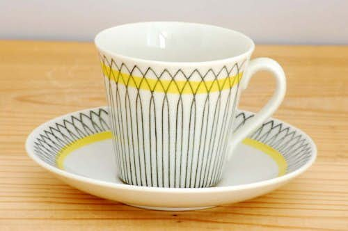 Upsala Ekeby/ウプサラエクビイ/SPINETT/コーヒーカップ&ソーサーの商品写真