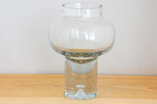 デンマーク/Holmegaad/ガラスのキャンドルスタンド(花瓶)の商品写真