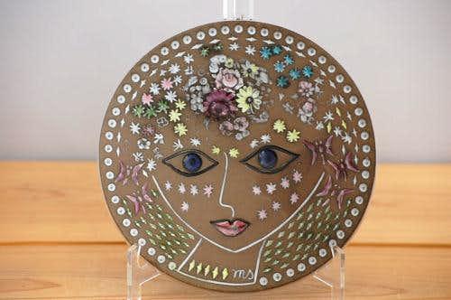 これはレア!!/Upsala Ekeby/ウプサラエクビイ/陶板の壁掛け(美しい女性)の商品写真