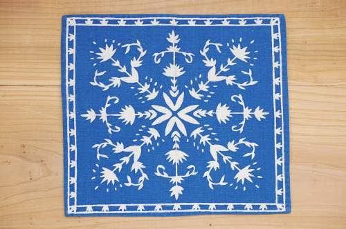 スウェーデンで見つけたセンタークロス(ブルー&ホワイト)の商品写真