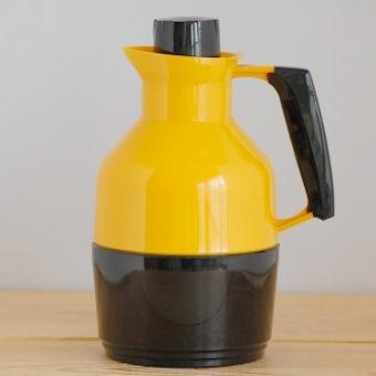 スウェーデンで見つけたヴィンテージ魔法瓶(イエロー)の商品写真
