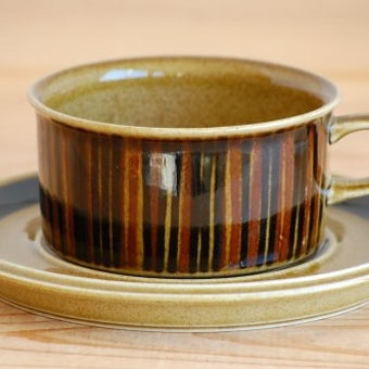 ARABIA/アラビア/KOSMOS/コスモス/ティーカップ&ソーサー(僅かに難あり)の商品写真