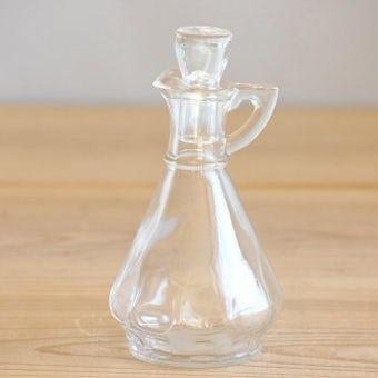 スウェーデンで見つけた古いガラスボトル(オイルボトル)の商品写真