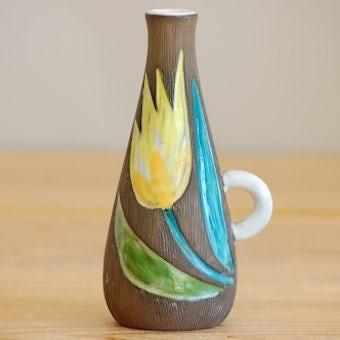 これはレア!!/Upsala Ekeby/ウプサラ・エクビイ/Mari Simmulsonデザイン/花瓶(一輪挿し)の商品写真