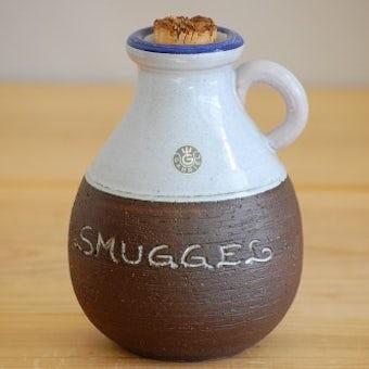 スウェーデン/GABRIEL/ガブリエル釜/コルク蓋付き陶器のピッチャーの商品写真