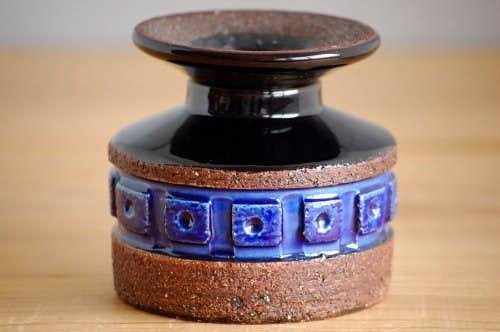 スウェーデン/GABRIEL/ガブリエル釜/陶器の花瓶(キャンドルスタンド)の商品写真