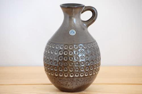 Upsala Ekeby/ウプサラエクビイ/Mari Simmulson/陶器の花瓶(ブラウン)の商品写真