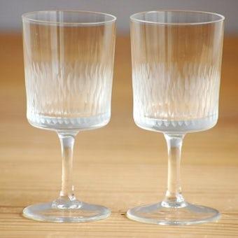 スウェーデンで見つけたショットグラス2個セットの商品写真