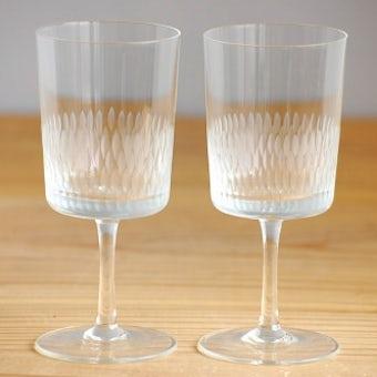 スウェーデンで見つけたアペリティフ(食前酒)グラス2個セットの商品写真
