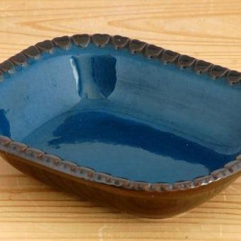 スウェーデン/GABRIEL/ガブリエル釜/深皿(ダークブルー)の商品写真