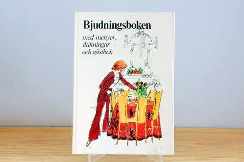 スウェーデンで見つけた古い本(可愛いパーティーブック)の商品写真