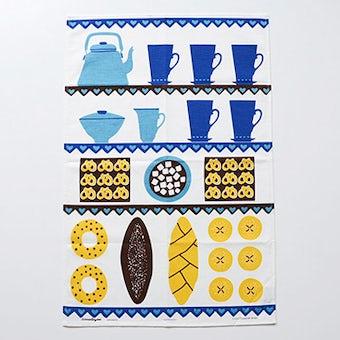 スウェーデン/Almedahls/アルメダールス/カフェの時間/キッチンタオルの商品写真