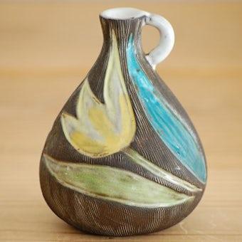 Upsala Ekeby/ウプサラエクビイ/Mari Simmulson/陶器の花瓶(チューリップ)の商品写真