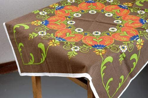 スウェーデンで見つけた可愛いテーブルクロスの商品写真