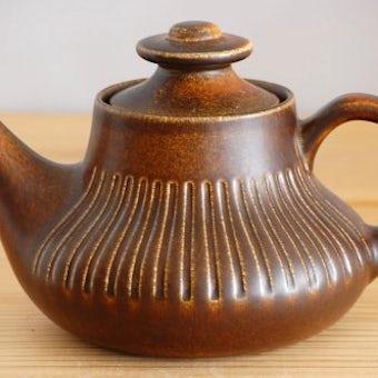 GEFLE/ゲフル/CUBA/キューバ/陶器のティーポット(茶漉し付き)の商品写真